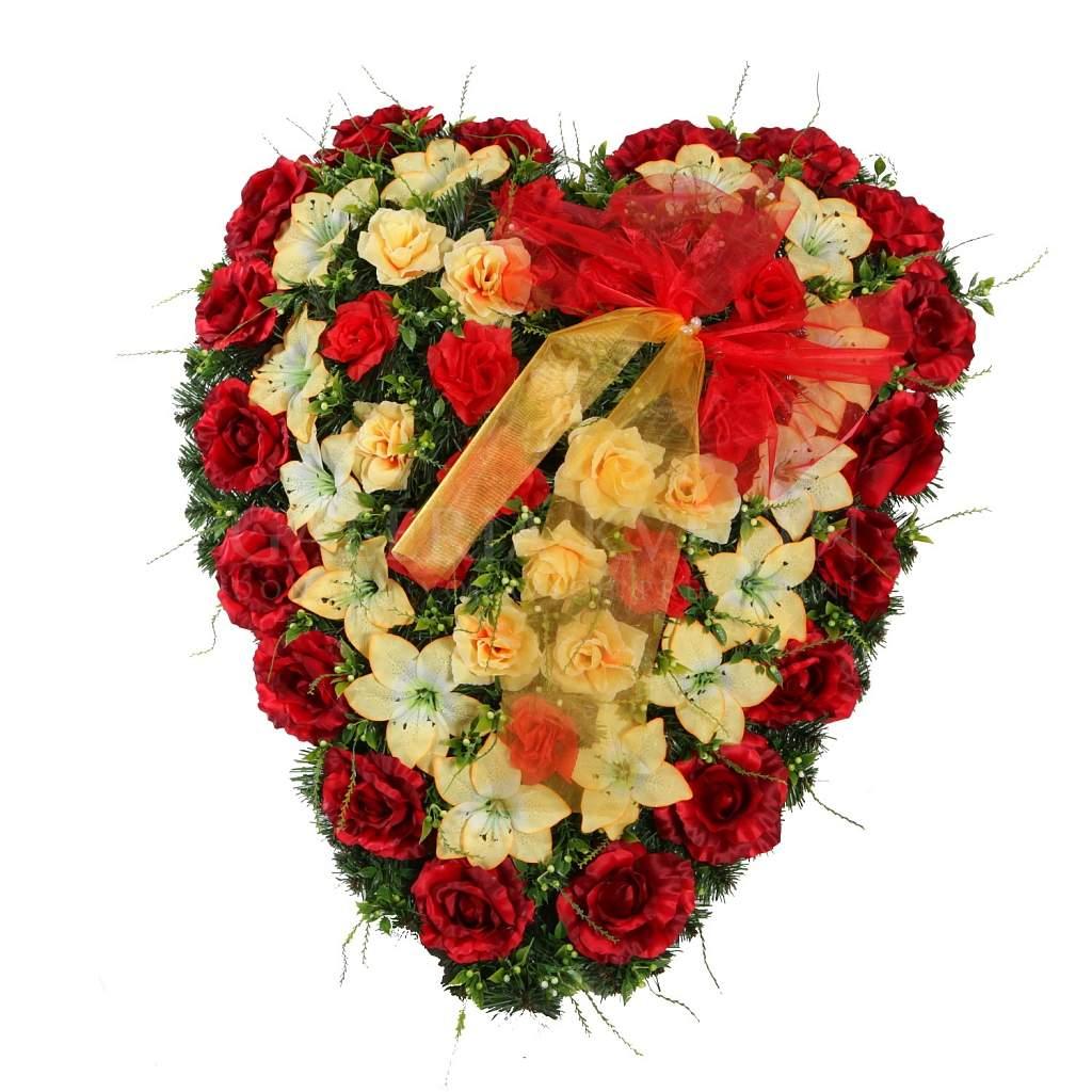 9be64bab0 Smútočný veniec Rozlúčka uboleného srdca   Galéria kvetín