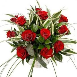 Kytica Červený les z ruží