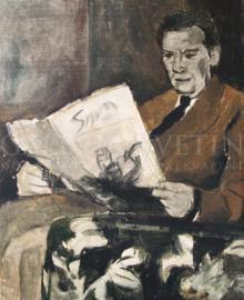 Čítajúci muž