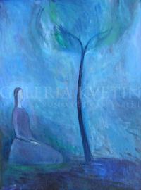Dievča a strom