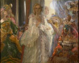 Karolína v roli kněžny