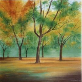 Stromy vo vetre