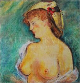 Svetovláska s odhalenými prsiami