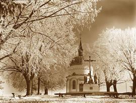 Kalvária bobrov - zima Orava - Bobrov