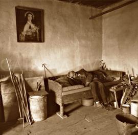 Zo starých dreveníc Pieta -  Orava - Rabča