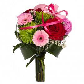 Kytica Vášnivé kvety