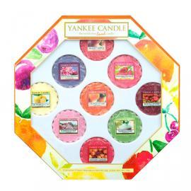 Krásny darček pre milovníkov YANKEE CANDLE vôní sa skladá sa z 9 vonných voskov