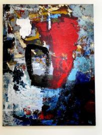 Krajina III, akryl, 75x100 cm