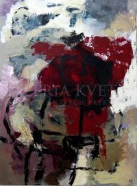Krajina VI, akryl, 80x100 cm