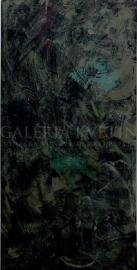 Meditácia II, akryl, 70x140 cm