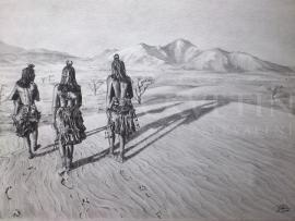 KMENE- Himba, Namíbia