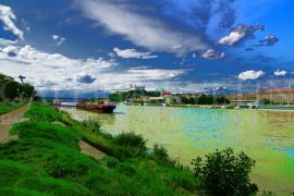 Pravý breh Dunaja v Bratislave