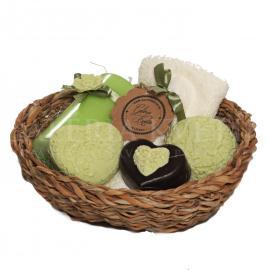 Darčekový kôš Vôňa zeleného čaju