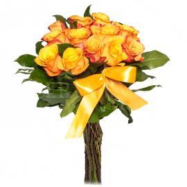Kytica ruží Oranžový tucet