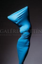 Shape of body-light blue