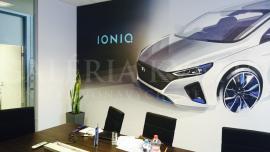 Hyundai - realizácia kvetinovej výzdoby a údržba