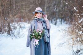 Svadobná kytica s blogerkou Lapkinn
