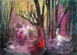 Jeseň na pstruhovom potoku