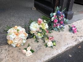Letné svadobné kytice