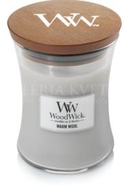 Sviečka stredná Warm Wool