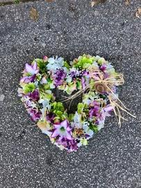 Kvetinové srdce