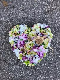 Kvetinové srdce B