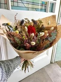 Kytica zo sušených kvetov