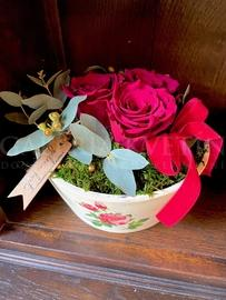 Aranžmán Ruža Baroková záhrada väčšia