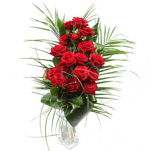 Kytica Náruč plná lásky z červených ruží