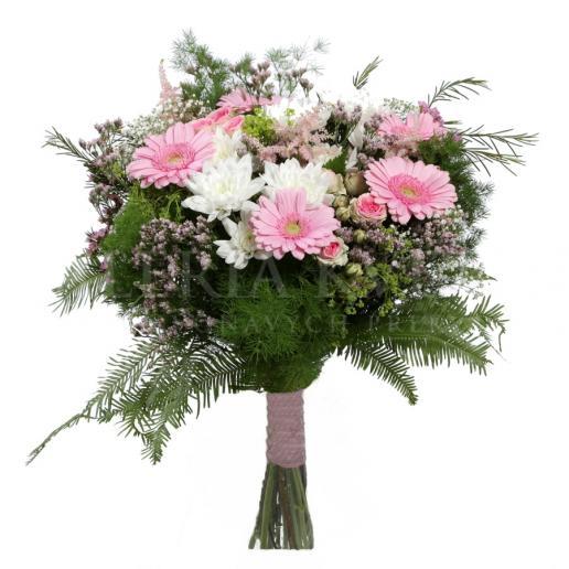 Kytica I. Vicemiss z gerbier a chryzantém