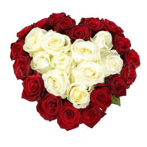 Kytica Amorove Srdce