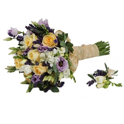 Svadobná kytica Francúzsky šarm