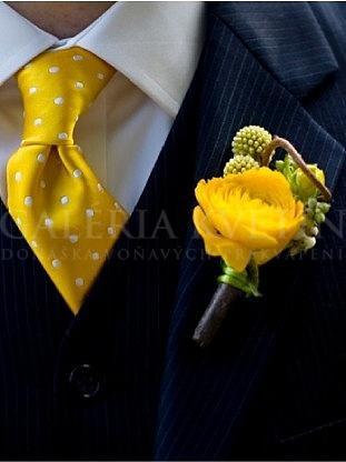 Pierko Žltý ranunculus