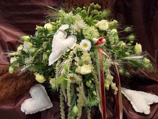 Ikebana na hlavný stôl Letné obilie