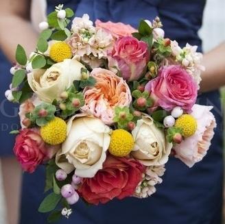 Svadobná kytica Paleta ruží