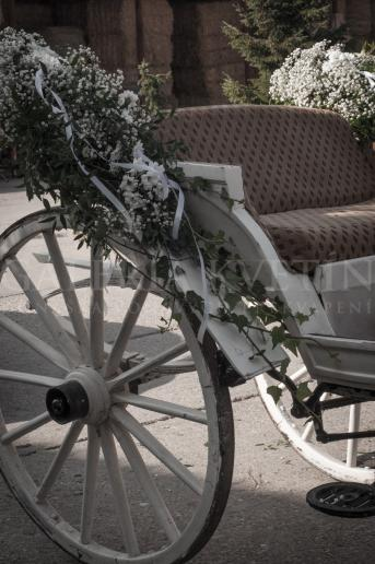 Svadobná Výzdoba koča Elegancia