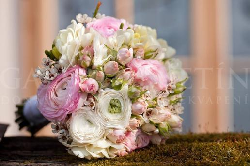 Svadobná kytica Jemná krása