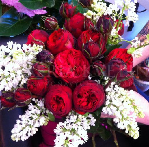 Kytica pre družičku Lilac rose