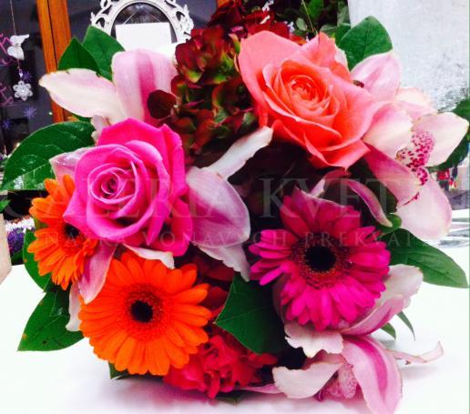 Družičkina kvetinová kytica
