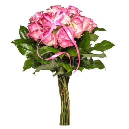 Kytica Ružový tucet z ružových ruží