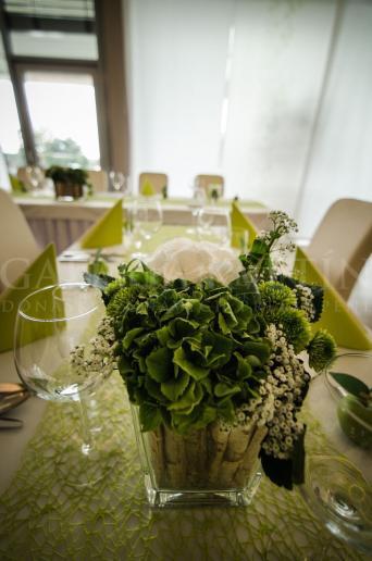 Aranžmán na stôl Lesná breza