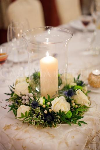 Malý aranžmán na stôl Škótsky šarm