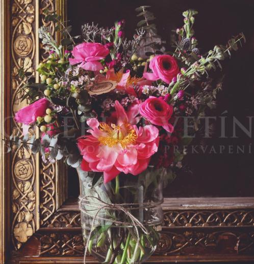 Váza plná kvetov