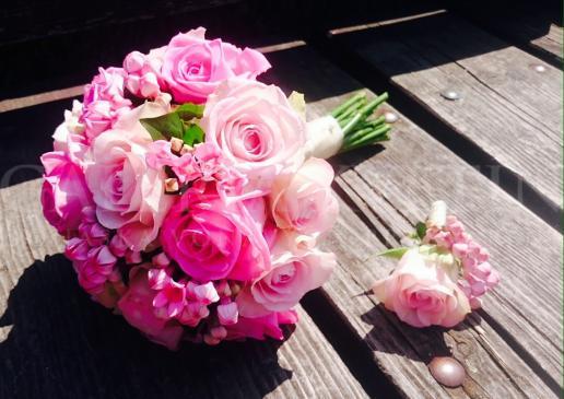 Bouvardia v ružovom