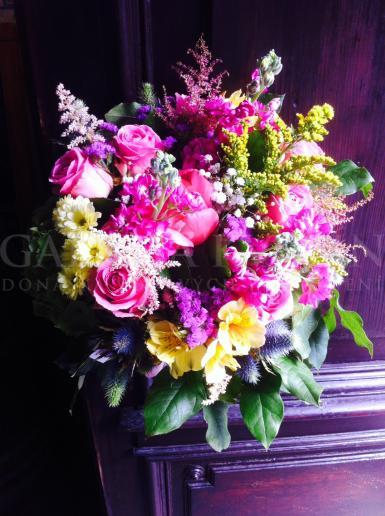 Kytica pre mamu Náruč plná kvetov
