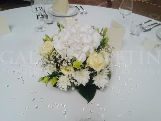 Aranžmán na stôl White day