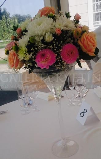 Dekorácia do sklenenej vázy Kráľovnin moment