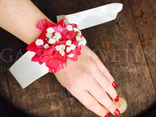 Náramok na ruku Jesenná hortenzia