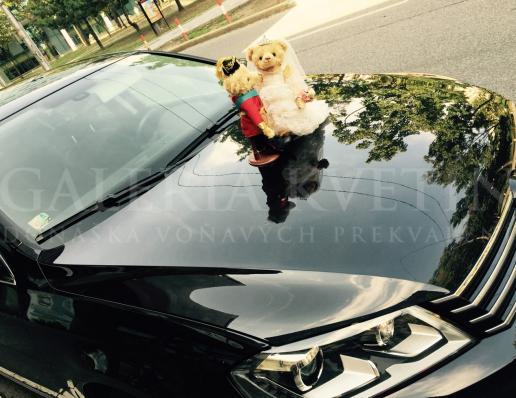 Ozdoba na auto Kráľovský pár