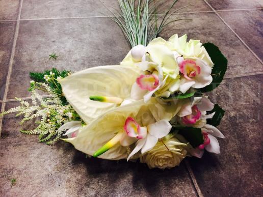 Svadobná kytica Srdce svadby